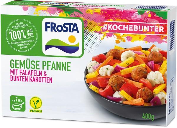FRoSTA Gemüse Pfanne mit Falafeln & Karotten (400 g)