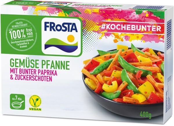 FRoSTA Gemüse Pfanne mit bunter Paprika & Zuckerschoten (400 g)