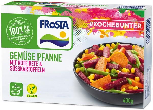 FRoSTA Gemüse Pfanne mit Rote Bete & Süßkartoffeln (400g)